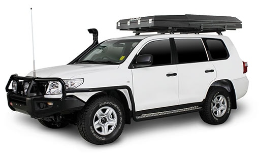 Red Dirt 4WD with Roof Top Tent