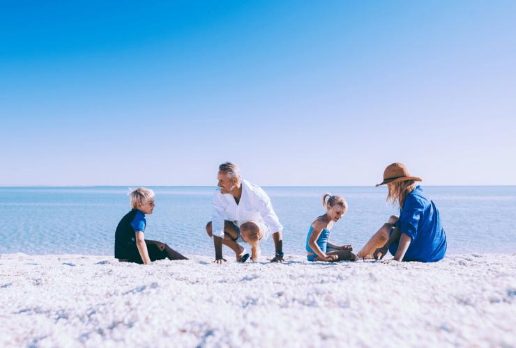 Shell Beach, Denham, Western Australia Red Dirt 4WD Rentals