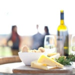 Cheese platter at Lancaster Winery in the Swan Valley Red Dirt 4WD Rentals