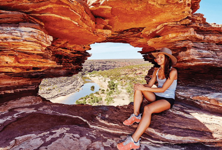 Nature's Window, Kalbarri Ntional Park Red Dirt 4WD Rentals