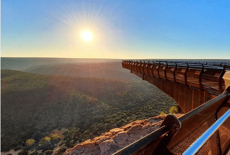 Kalbarri Skywalk, Western Australia Red Dirt 4WD Rentals