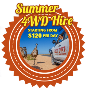 Summer 4WD Hire - Starting from $120/Day