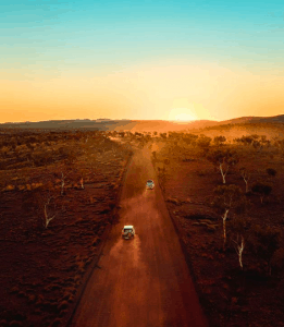 4WD through the Australian Outback with Red Dirt 4WD Rentals