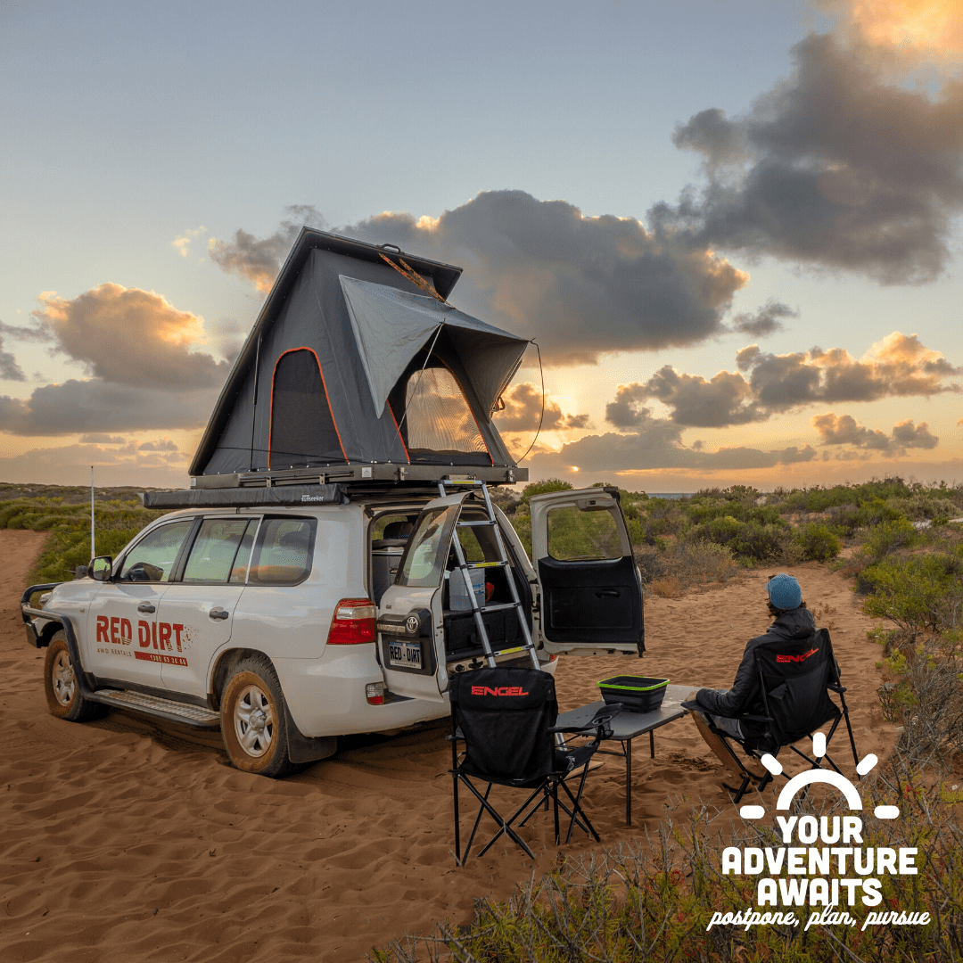 4wd hire with rooftop tent