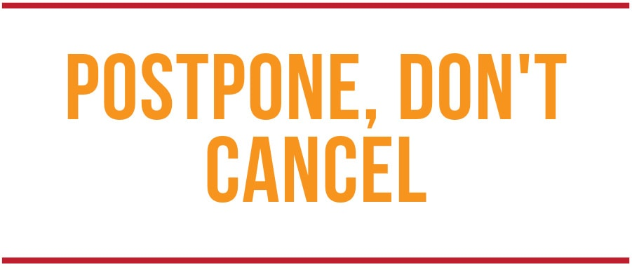 Support WA Tourism Businesses - Postpone, Don't Cancel