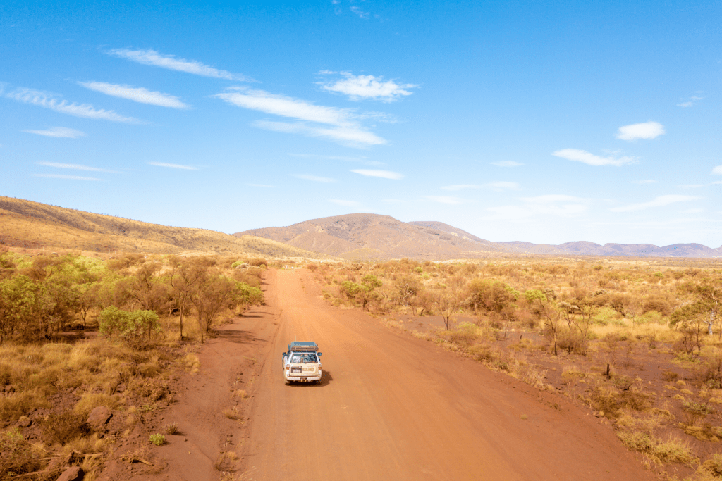 Australia's Golden Outback Red Dirt 4WD Rentals