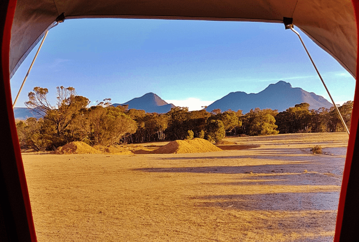 roof top tent - Stirling Range National Park, Western Australia Red Dirt 4WD Rentals
